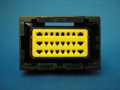 24 Way Sicma / Fci Connector Plug With Socket Contacts