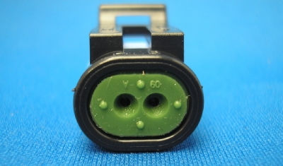 CON-398 Delphi pull-to-seat 2 way sensor connector