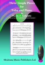Three Simple Pieces For Tuba And Piano