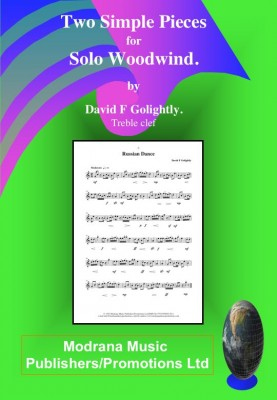 979-0-708108-58-4 Two Simple Pieces for Solo Woodwind Treble Clef