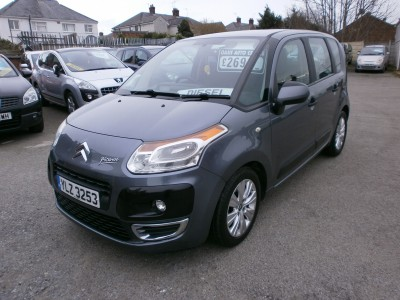 2009 Citroen C3 Picasso 1.6HDi turbo diesel VTR+