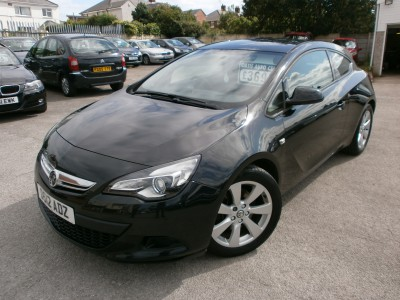 2012 12 Vauxhall Astra GTC Sport 1.4 Petrol Turbo, 3 Door Coupe