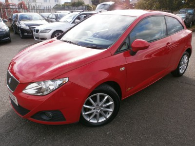 2012 61 Seat Ibiza Copa 3 CR Sports Coupe Ecomotive SE, 1.2 Turbo Diesel, 3 Door Hatch
