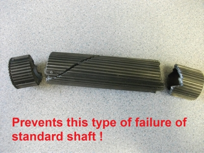 12 EVO 4 - 9 Uprated Gearbox Output shaft