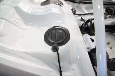 EXF41 EVO X Carbon Fuel Tank covers