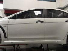 Evo X Side Sill Skirt Grp