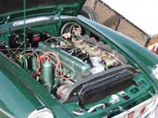 MGC Engine bay