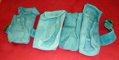 WW2 RAF Ammunition pouches/ belt 1942 and 1943 dated
