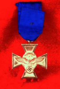 WW2 18 Year German Police Service Medal