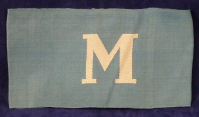 Un-issued Rare German Messenger Armband