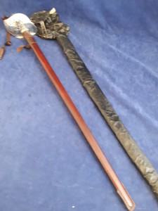 1897 Pattern George VI Infantry Officers Sword With Leather Sword Knot And In Original Sword Bag