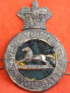 Victorian 2nd Voln Bn West Yorkshire Glengary (Sleeper)