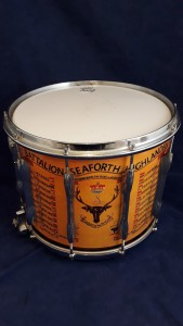 1st Battalion Seaforth Highlanders Marching Band Snare Drum