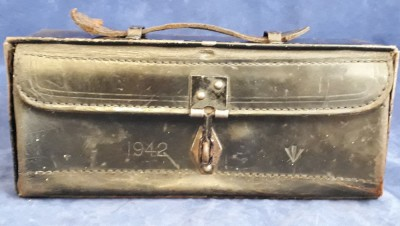 1942 Dated War Dept Stamped Motorcycle/ Dispatch Rider Box