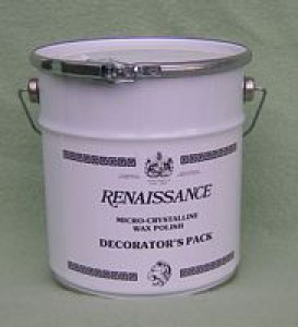 RENAISSANCE WAX / POLISH - 3 Litre Bucket