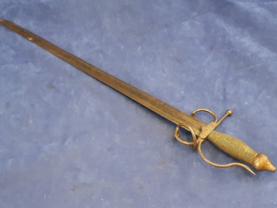 Wall Hanger/ Display, Reproduction, Spanish Style Sword