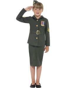41104 WWII Army Girl