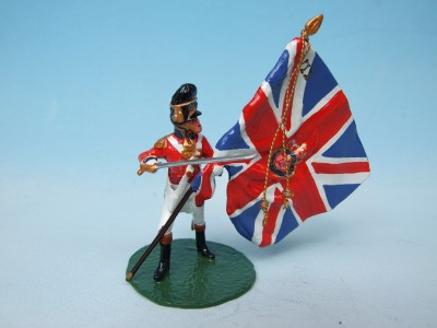7TH FUSILIER KING'S COLOUR