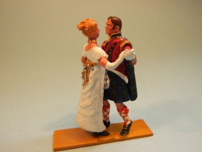 HIGHLAND COLONEL AND LADY DANCING