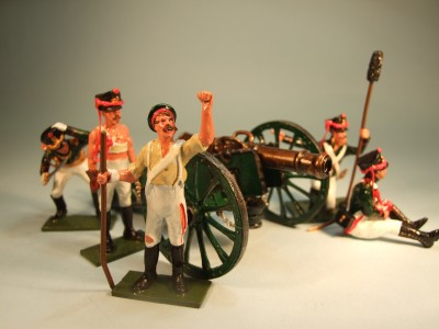 RUSSIAN ARTILLERY AT BORODINO