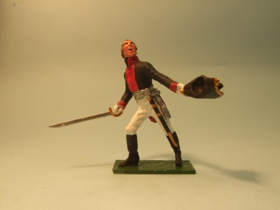PRUSSIAN MUSKETEER OFFICER