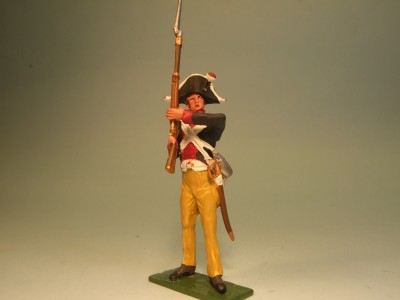 PRUSSIAN MUSKETEER READY TO FIRE
