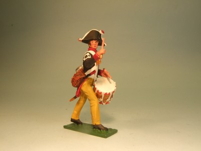 PRUSSIAN MUSKETEER DUMMER