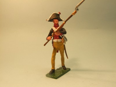 PRUSSIAN MUSKETEER ADVANCING
