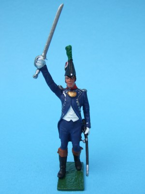 FRENCH CHASSEURS OFFICER