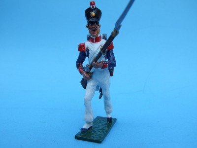 LINE GRENADIER ADVANCING