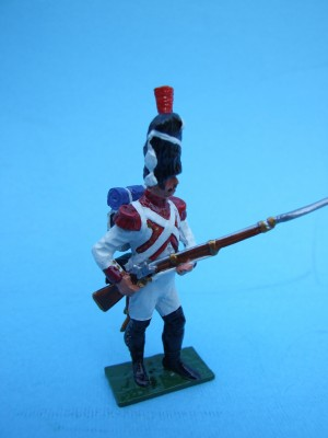 DUTCH GRENADIER STANDING AT THE READY