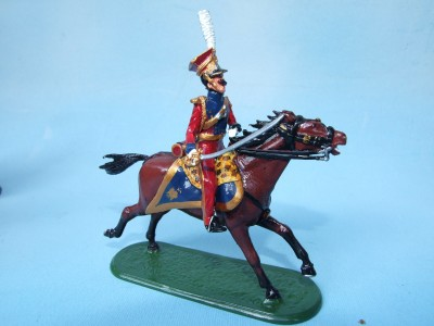 RED LANCER OFFICER