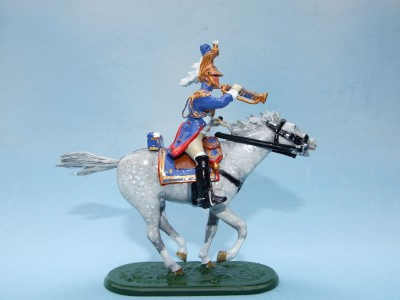 EMPRESS DRAGOON TRUMPETER IMPERIAL GUARD