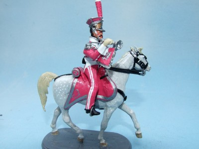 LANCERS DE BERG TRUMPETER FULL DRESS