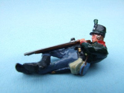 60TH RIFLES LYING FIRING