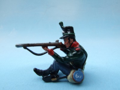 60TH RIFLES SITTING FIRING
