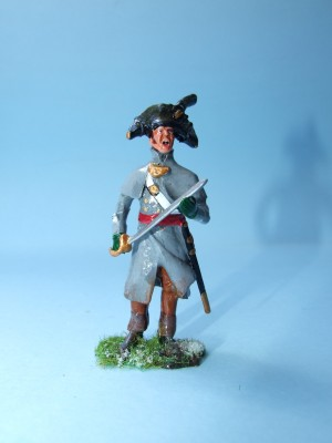 REARGUARD AT CORUNNA BRITISH INFANTRY OFFICER