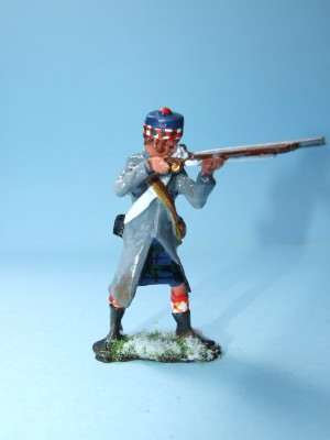 REARGUARD AT CORUNNA BLACKWATCH PRIVATE STANDING FIRING