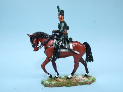 95th RIFLES MOUNTED OFFICER