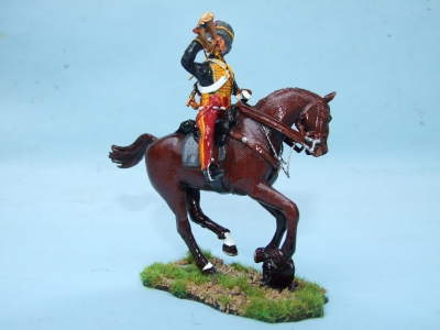 11th HUSSARS TRUMPETER