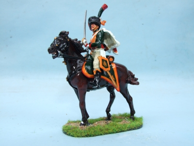 CHASSEUR AU CHEVAL OF THE IMPERIAL GUARD FULL DRESS