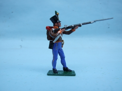 GRENTZ INF STANDING FIRING BORDER REGIMENT No 4