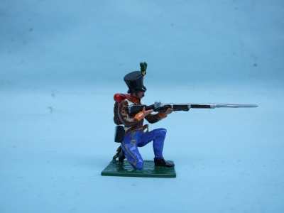 GRENTZ INF KNEELING FIRING BORDER REGIMENT No 4