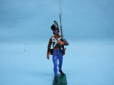 GRENTZ INFANTRY MARCH ATTACK BORDER REG No4