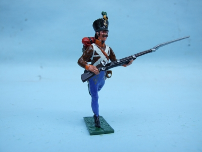 GRENTZ INFANTRY CHARGING BORDER REG No 4