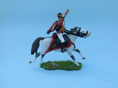 PRUSSIAN HUSSAR TRUMPETER