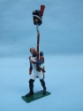OLD GUARD BEAR SKIN ON MUSKET