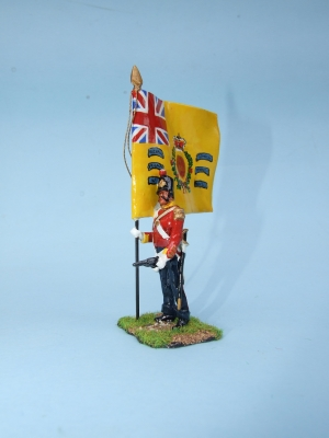 REGIMENTAL COLOUR 57th REG WEST MIDDLESEX