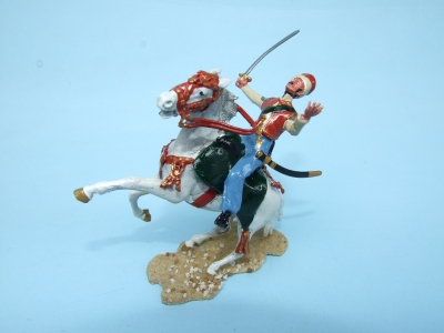 FALLING  WOUNDED  MAMLUK CAVALRY