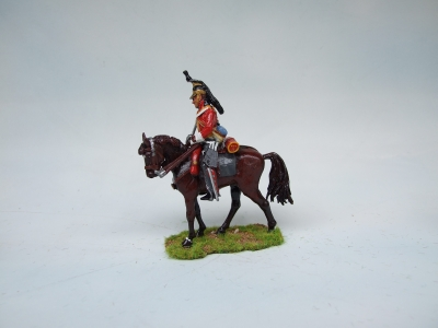 KINGS DRAGOON GUARD TROOPER AT REST